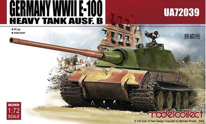 Picture of Germany WWII E-100 Heavy Tank Ausf. B tank