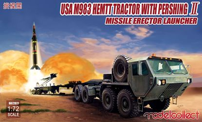 Picture of USA M983 Hemtt Tractor With Pershing II Missile Erector Launcher