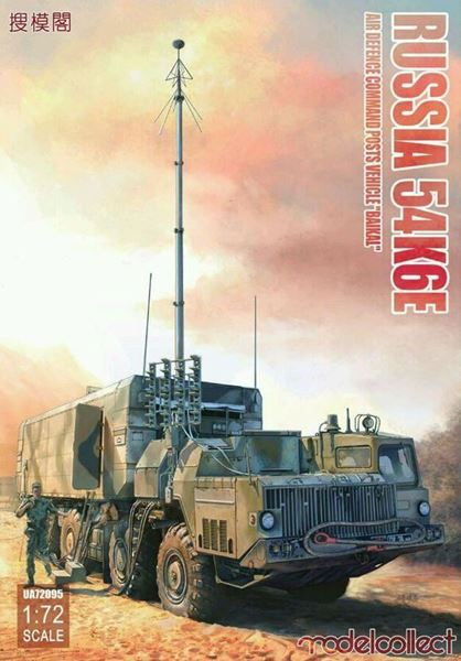 """Picture of Russian 54K6E """"Baikal"""" Air Defence Command Post"""
