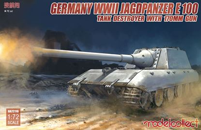 Picture of German WWII Jagdpanzer E-100 Tank destroyer with 170mm gun