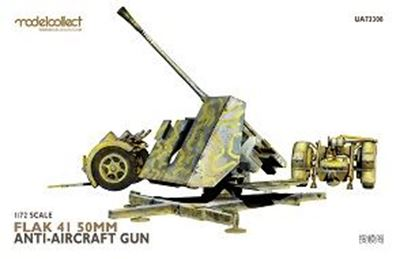 Modelcollect 1/72 UA73308 Flak 41 50mm gun